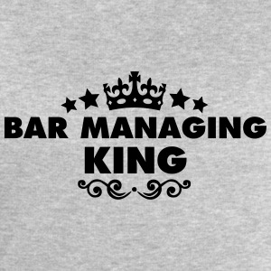 bar managing king 2015 - Men's Sweatshirt by Stanley & Stella