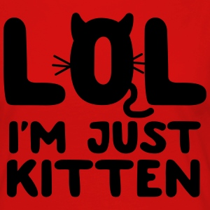 LOL I'm just kitten T-Shirts - Women's Premium Longsleeve Shirt