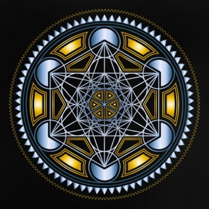METATRONS CUBE, FLOWER OF LIFE, SPIRITUALITY Shirts - Baby T-shirt