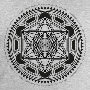METATRONS CUBE, SACRED GEOMETRY, SPIRITUALITY T-Shirts - Men's Sweatshirt by Stanley & Stella