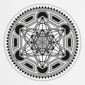 METATRONS CUBE, SACRED GEOMETRY, SPIRITUALITY T-Shirts - Cooking Apron