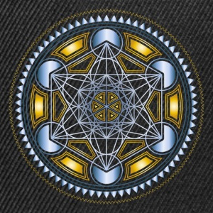 METATRONS CUBE, FLOWER OF LIFE, SPIRITUALITY T-Shirts - Snapback Cap
