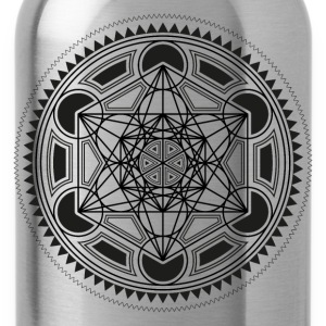 METATRONS CUBE, SACRED GEOMETRY, SPIRITUALITY T-Shirts - Water Bottle