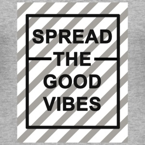 Good Vibes Hoodie - Männer Slim Fit T-Shirt