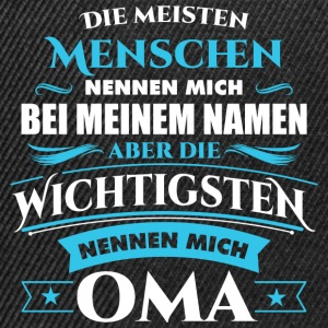 Oma Großmutter Omi Name Pullover & Hoodies - Snapback Cap