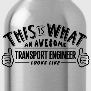 awesome transport engineer looks like pr - Water Bottle