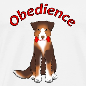 Obedience AS Apportl Toppe - Herre premium T-shirt