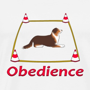Obedience AS box Toppe - Herre premium T-shirt