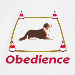Obedience AS box Baby slabbetjes - Mannen Premium T-shirt