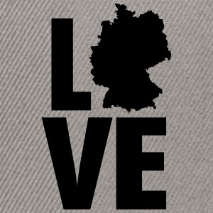 Love Germany T-Shirts - Snapback Cap