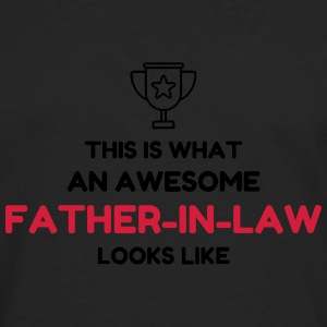 Father-in-law / Father in law / Marriage / Family T-Shirts - Men's Premium Longsleeve Shirt