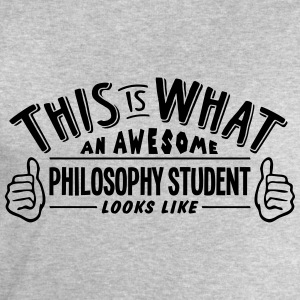 awesome philosophy student looks like pr - Men's Sweatshirt by Stanley & Stella