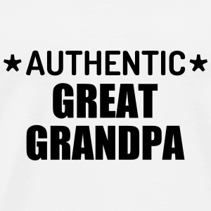 Great Grandpa Grandad Grandfather Family Baby Mugs & Drinkware - Men's Premium T-Shirt
