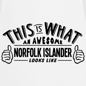 awesome norfolk islander looks like pro  - Cooking Apron