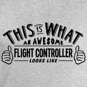 awesome flight controller looks like pro - Men's Sweatshirt by Stanley & Stella