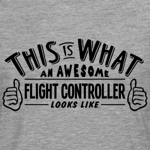 awesome flight controller looks like pro - Men's Premium Longsleeve Shirt