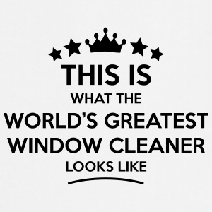 window cleaner world greatest looks like - Cooking Apron