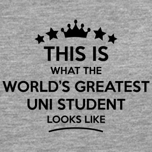 uni student world greatest looks like - Men's Premium Longsleeve Shirt