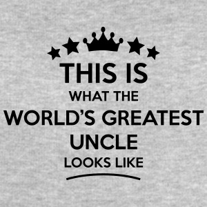 uncle world greatest looks like - Men's Sweatshirt by Stanley & Stella