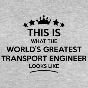 transport engineer world greatest looks  - Men's Sweatshirt by Stanley & Stella