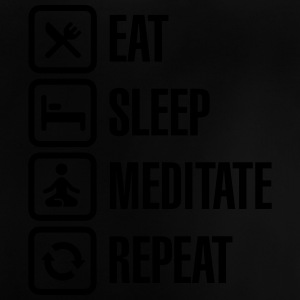 Eat -  sleep - meditate - repeat Tee shirts - T-shirt Bébé