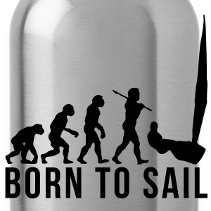 sailing evolution born to sail - Water Bottle
