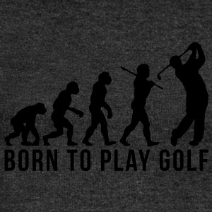 golf evolution born to play golf - Women's Boat Neck Long Sleeve Top