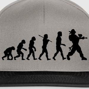 pa01 paintball evolution - Snapback Cap