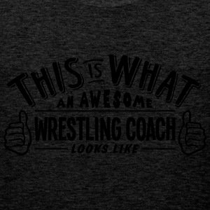 awesome wrestling coach looks like pro d - Men's Premium Tank Top