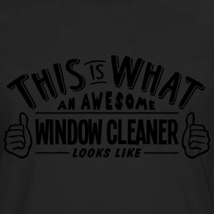 awesome window cleaner looks like pro de - Men's Premium Longsleeve Shirt