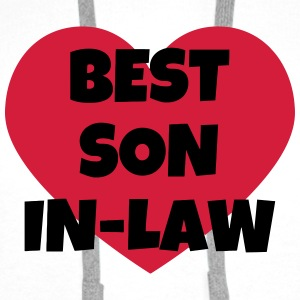 Son-in-law / Son in law / Marriage / Family Shirts - Men's Premium Hoodie