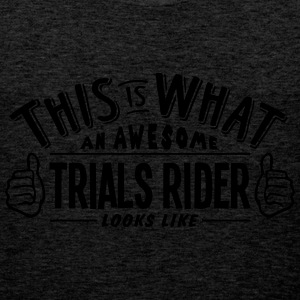 awesome trials rider looks like pro desi - Men's Premium Tank Top