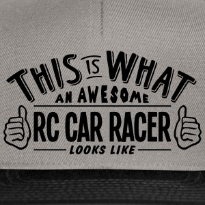 awesome rc car racer looks like pro desi - Snapback Cap