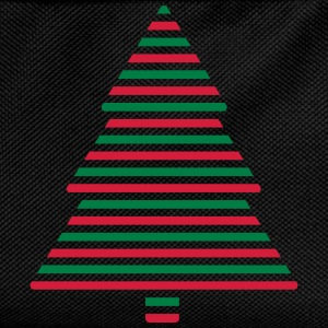 Christmas tree lines T-Shirts - Kids' Backpack