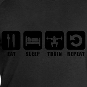 Tee shirt homme Eat Sleep Train Repeat - Sweat-shirt Homme Stanley & Stella
