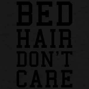 Bed Hair Funny Quote  Caps & Hats - Men's Premium T-Shirt