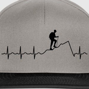 Heartbeat Hiking Tee shirts - Casquette snapback