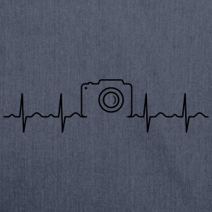 Heartbeat Photography T-shirts - Skuldertaske af recycling-material