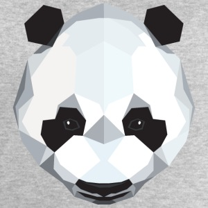 Panda (Low Poly) T-Shirts - Men's Sweatshirt by Stanley & Stella