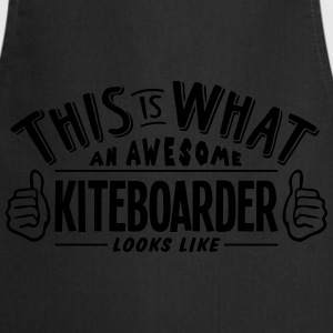 awesome kiteboarder looks like pro desig - Cooking Apron