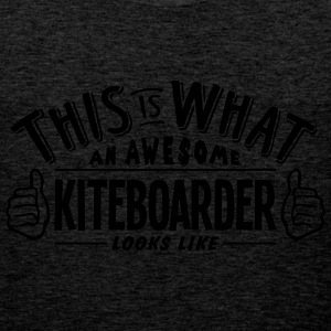 awesome kiteboarder looks like pro desig - Men's Premium Tank Top
