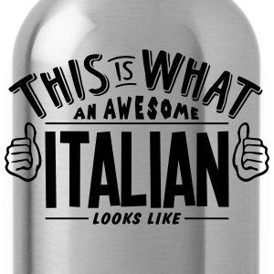 awesome italian looks like pro design - Water Bottle