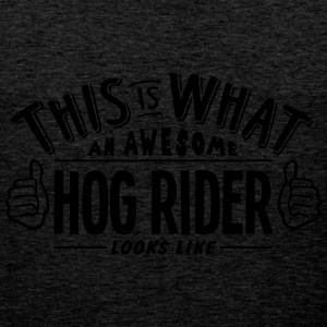 awesome hog rider looks like pro design - Men's Premium Tank Top