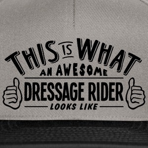 awesome dressage rider looks like pro de - Snapback Cap