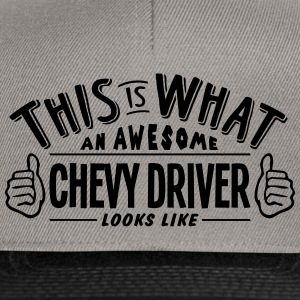 awesome chevy driver looks like pro desi - Snapback Cap