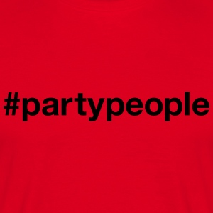PARTYPEOPLE - Men's T-Shirt