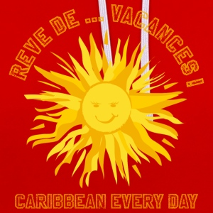 CARIBBEAN EVERY DAY - Sweat-shirt contraste
