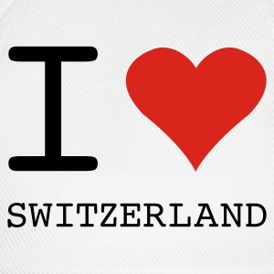 I LOVE SWITZERLAND - Baseball Cap