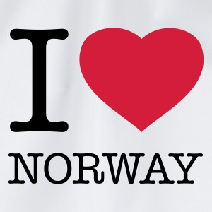 I LOVE NORWAY - Gymbag