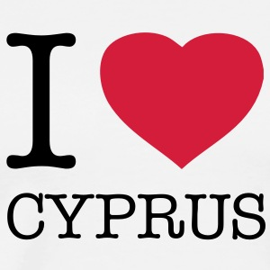 I LOVE CYPRUS - T-shirt Premium Homme